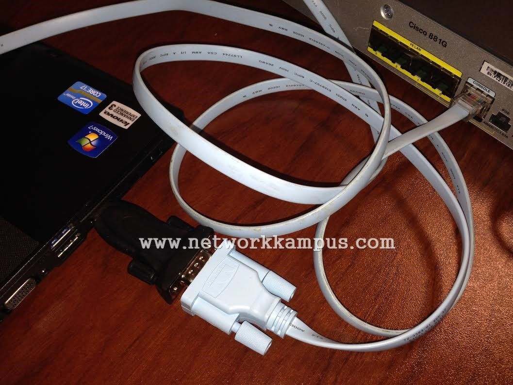 temel network bilesenleri konsol baglantisi