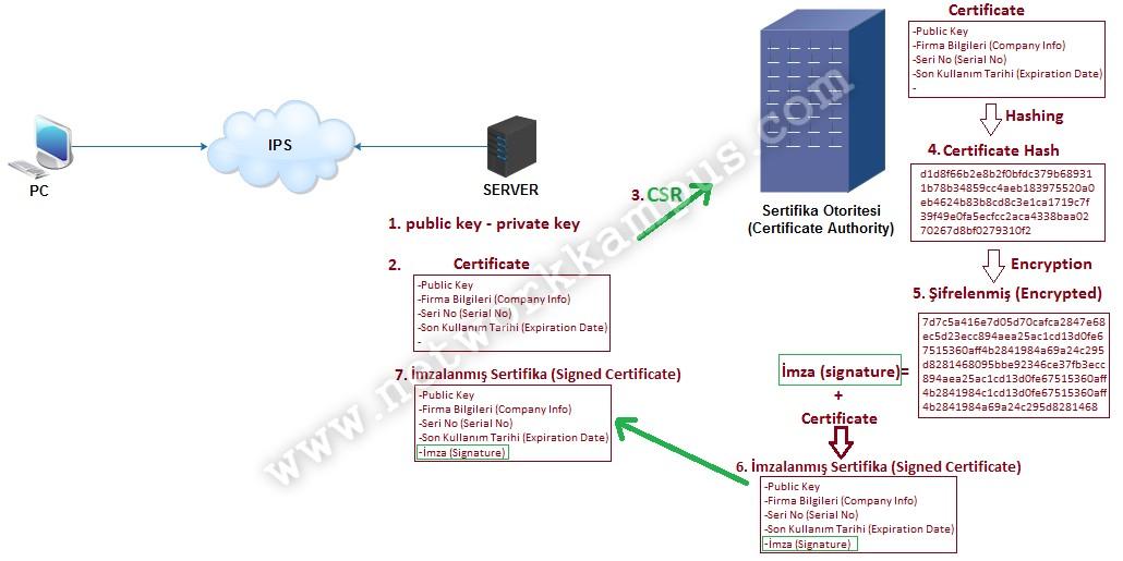 SSL nedir ne işe yarar sertifika oluşturma