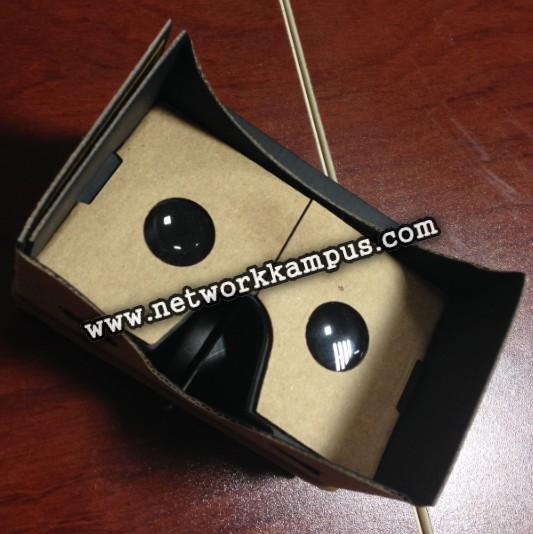 sanal gerçeklik gözlüğü Google Cardboard