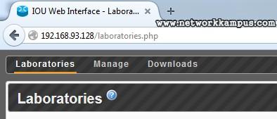 Web Browser ile IOU'ya Erişim