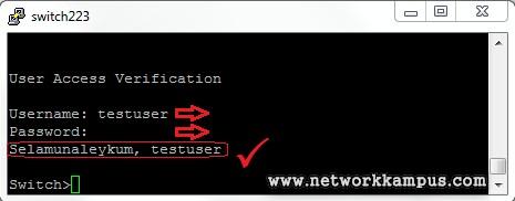 cisco switch dot1x kimlik doğrulama