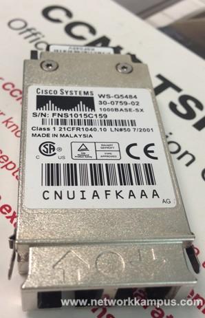 Cisco marka WS-G5484 model GBIC, WS-G5484 cibik