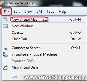 virtual machine centos vmware kurulumu