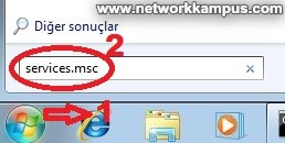 windows 7 services.msc