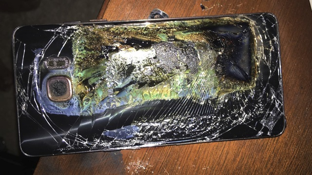 Samsung Note 7 Değişim Programı Durduruldu