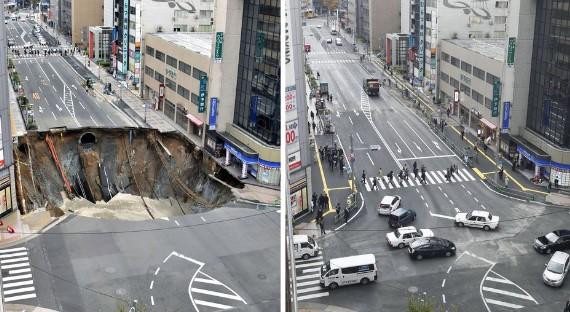 Çöken Otoyolu 48 Saatte Düzelten Japonlar