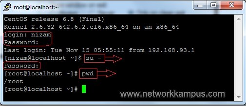 linux centos red hat rhel putty ile telnet ornek