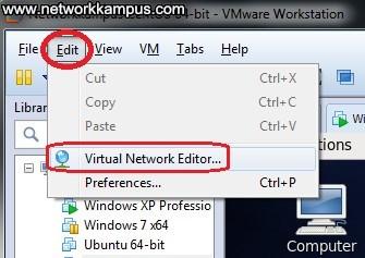 VMware Workstation telnet ayarları