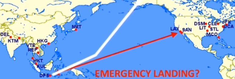 Alaska'ya Acil İniş