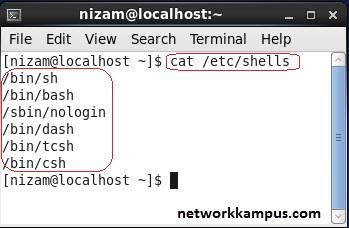 linux kabuk programlama