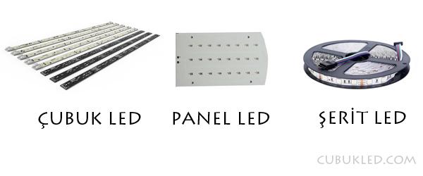 çubuk led panel led şerit led